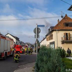 Hausbrand in der Gartenstraße (Foto: Patrick Bergem)