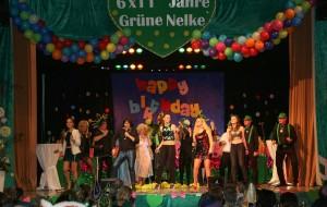 Bild/Verein: Die Nelkensingers bei ihrem Auftritt