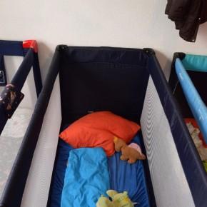 Hier schlafen die kleinen Wilden.