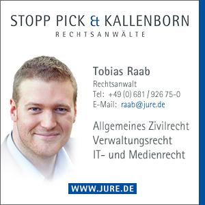 Rechtsanwalt Tobias Raab - Kanzlei STOPP PICK & KALLENBORN