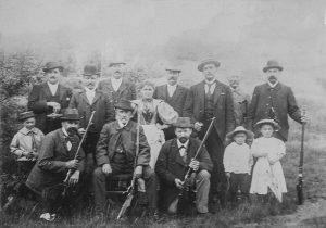 Foto: Vorstand 1898, Vereinsarchiv