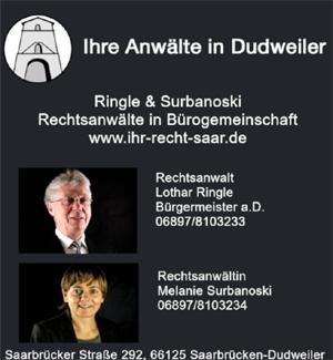 mehr Informationen über die Dudweiler Rechtsanwälte Ringle und Surbanoski
