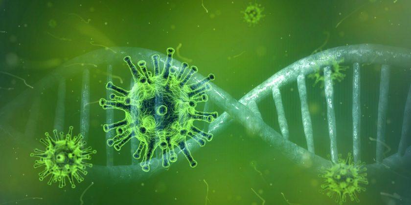 Darstellung des Coronavirus