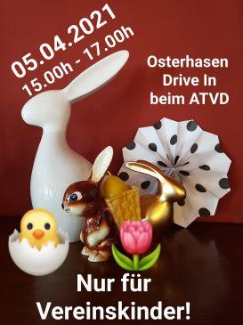 Osterhasen-Drive-In beim ATVD